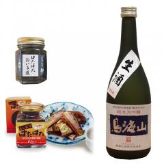 ハタハタの珍味と生酒セット